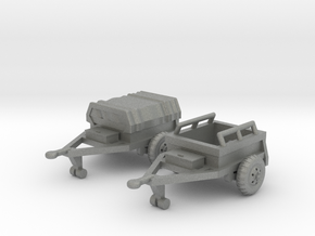 M332 Ammo Trailer in Gray Professional Plastic: 1:144