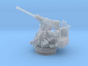 1/56 USN 40mm Twin Bofors Elevated in Smooth Fine Detail Plastic