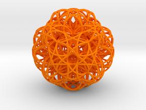 Zulu Stable Radiation in Orange Processed Versatile Plastic