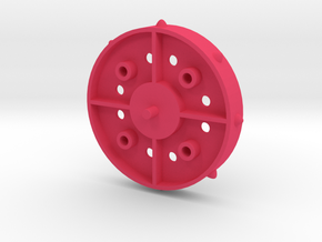 Nemesis Spin Roller in Pink Processed Versatile Plastic
