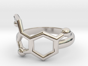 Serotonin Molecule Ring Minimal in Platinum: 3.5 / 45.25