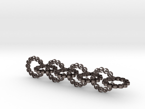 chainr 23.62mm in Polished Bronzed-Silver Steel