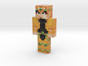 MrSet   Minecraft toy in Natural Full Color Sandstone