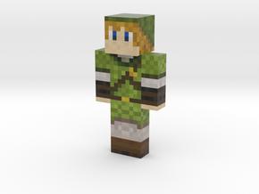RabWaj   Minecraft toy in Natural Full Color Sandstone