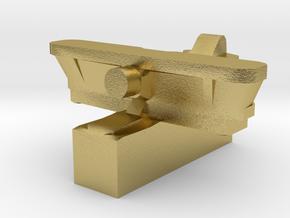 IMAM Ro.43 Floatplane 1:2400 WW2 in Natural Brass