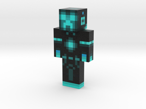 Superkiron | Minecraft toy in Natural Full Color Sandstone