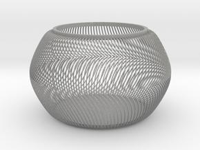 Squishy Bowl in Aluminum