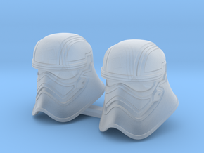 Shiny Bucketheads (x2) in Smoothest Fine Detail Plastic