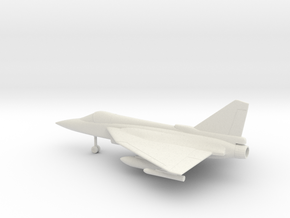 HAL Tejas in White Natural Versatile Plastic: 1:64 - S