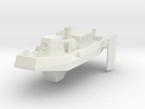 Steam Launch 300 in White Natural Versatile Plastic