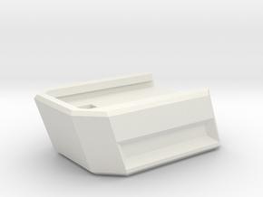 WE Glock G series Extended Magazine Baseplate  in White Natural Versatile Plastic