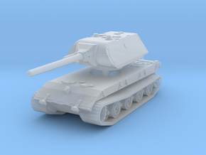 E 100 Maus 128mm 1/200 in Smooth Fine Detail Plastic