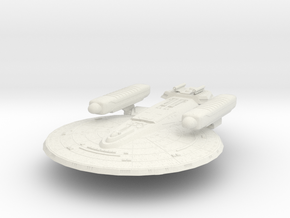 Federation CrazyHorse Class B HvyCruiser in White Natural Versatile Plastic