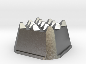 Truffle Shuffle 5a in Natural Silver