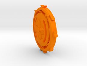 beyblade in Orange Processed Versatile Plastic