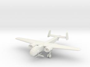 1/200 Junkers Ju-288C in White Natural Versatile Plastic