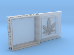 Stash Box Hemp in Smooth Fine Detail Plastic