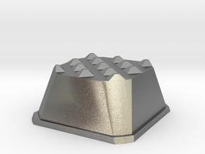 Truffle Shuffle 6a in Natural Silver