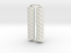 Slimline Pro divets lathe in White Natural Versatile Plastic