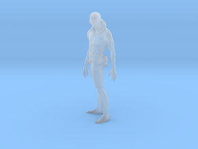 Printle V Homme 1572 - 1/50 - wob in Smooth Fine Detail Plastic