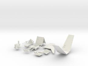 Incom T-16 #800 in White Natural Versatile Plastic