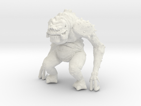 Star Wars Rancor 1/60 miniature for games and rpg in White Natural Versatile Plastic