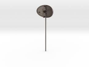 K9 From Doctor Who Ear (Longer) in Polished Bronzed Silver Steel