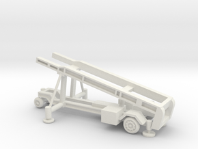 1/110 Scale MK4 Regulus Missile Launcher  in White Natural Versatile Plastic