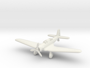 Northrop A-17 Nomad 1/285 in White Natural Versatile Plastic
