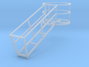 1/64 Harvestore Cage in Smooth Fine Detail Plastic