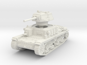 M15 42 Medium Tank 1/87 in White Natural Versatile Plastic