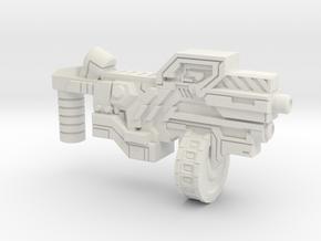 DoubleTake's Solo SMG (Multisize) in White Natural Versatile Plastic: Medium