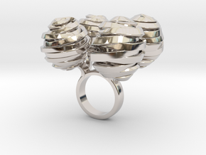 Fourto - Bjou Designs in Rhodium Plated Brass