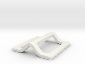 Jyn Erso Eadu version - buckle 2 in White Natural Versatile Plastic