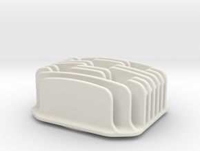Mach3 engine type cup (lid) in White Natural Versatile Plastic