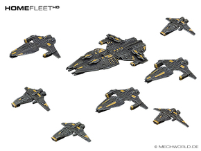 HOMEFLEET Fleet pack #01 in Frosted Ultra Detail