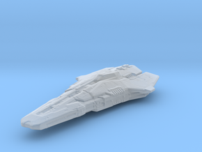 Elite Dangerous Federal Corvette V1 in Smooth Fine Detail Plastic