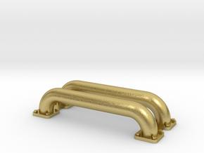 NS 5500 / HSM 700  verbindingspijpen messing in Natural Brass