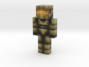 kittycrusader | Minecraft toy in Natural Full Color Sandstone