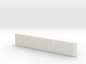 Peterbilt 389 bmper 1/24 scale  in White Natural Versatile Plastic
