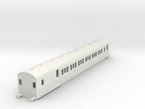 o-76-secr-continental-brake-second-coach in White Natural Versatile Plastic