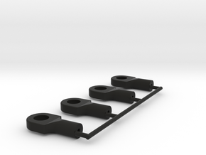 rotules M2 traxxas ball x4 in Black Natural Versatile Plastic
