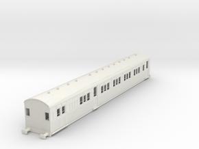 o-87-secr-sr-continental-brake-first-coach in White Natural Versatile Plastic
