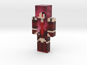 ReapersXxHeart   Minecraft toy in Natural Full Color Sandstone