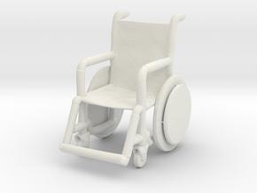 Printle Thing Wheelchair - 1/24 in White Natural Versatile Plastic