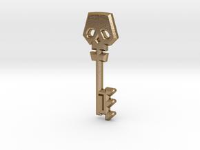 Borderlands 2 Golden Key in Polished Gold Steel