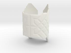 Viking Bracelet in White Natural Versatile Plastic