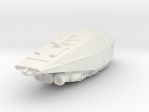 Imperial escort carrier  1/7000th scale in White Natural Versatile Plastic