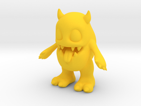 Baby Monster in Yellow Processed Versatile Plastic