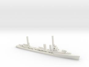 US Farragut-class Destroyer in White Natural Versatile Plastic